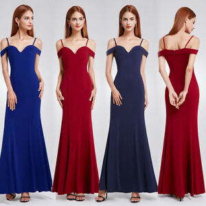US Formal Long Evening Dress Off Shoulder Cocktail Party Gown 07017 Ever-Pretty