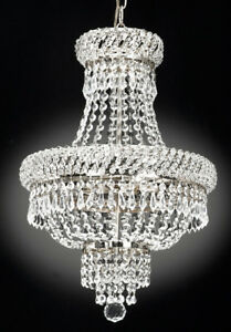 FRENCH EMPIRE CRYSTAL CHANDELIER CHANDELIERS LIGHTING S $139.92