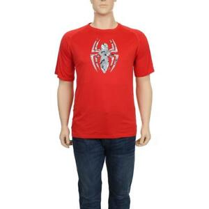 Under Armour Mens Red Spiderman Camouflage Loose Fit T-Shirt Top 2XL BHFO 7927
