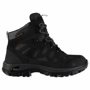 Jack Wolfskin Womens All Terrain 7 Walking Boots Water Resistant Lace Up Shoes