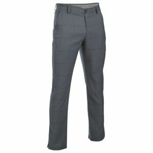 Under Armour Mens Play Tapered Golf Trousers Pants Bottoms Lightweight Zip Print