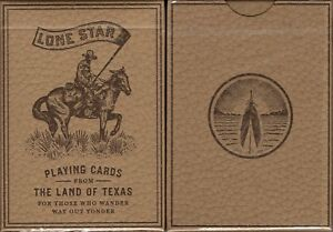 Lone Star Deluxe Playing Cards Poker Size Deck USPCC Custom Limited Edition New $12.99