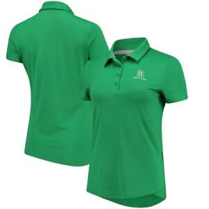 TPC River's Bend Under Armour Women's Leader Performance Polo - Green