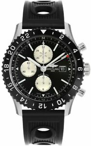 Brand New Breitling Chronoliner Men's Chronograph Watch Y2431012BE10-201S