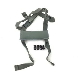 ACH Replacement 4 Point Chin Strap & Bolts Advanced Combat Helmet Spare Parts