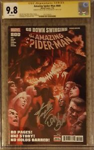 Amazing Spider-Man #800__CGC 9.8 SS__Signed by Stan