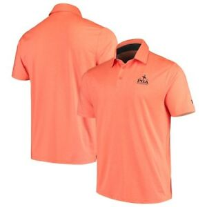 2019 PGA Championship Under Armour Playoff Heather Polo - Orange