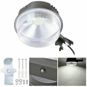 70W LED Barn Light w/ Photocell 9100lm IP65 Outdoor Factory Security Light