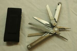 LEATHERMAN  WAVE + PLUS MULTI-TOOL W CASE - STAINLESS