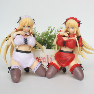 Anime Kaleidoscope Alice Maid Pretty Sexy Soft Chest 1/6 PVC Figure No Box