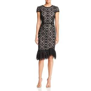 Betsey Johnson Womens Lace Mid-Calf Party Cocktail Dress BHFO 6394