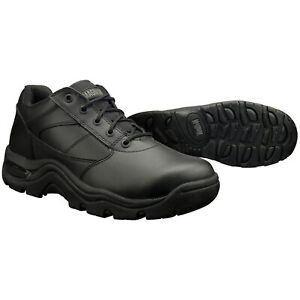 Magnum Viper Low Slip Resistant Black Leather Work Shoes Boots 5230 $35.00