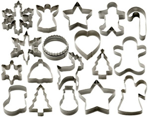 StarPack Christmas Cookie Cutters Set 18 Piece – Favorite Holiday Shapes Man -