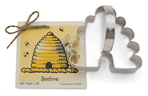 Beehive Cookie and Fondant Cutter - Ann Clark - 4 Inches - US Tin Plated Steel