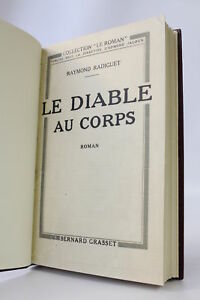 RADIGUET Le diable au corps [The Devil in the Flesh] FIRST EDITION 1923
