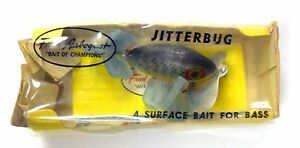 Fred Arbogast Very Rare Still In The Box Jitterbug.