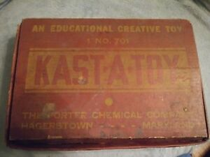 Kast-A-Toy vintage lead soldier mold kit 1930's #710