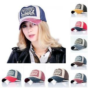 Baseball Cap Fashionable Front Motors Racing Team Letter Outdoor Hat For Unisex