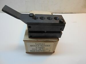 Lyman 4 cavity bullet mold group-A mold no-35891