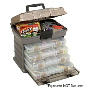 Plano Guide Series™ Stowaway® Rack Tackle Box System - GraphiteSandst