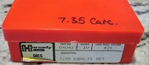 Hornady Pacific Durachrome Used Die set 7.65 Carcano