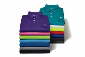 New Men's Nike Short Sleeve Athletic Gym Muscle Sport Dri-Fit Polo