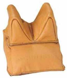 Champion Traps and Targets Unfilled Leather Steady Bags Rear 40877
