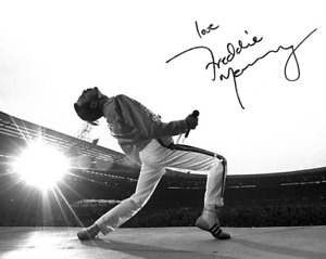 FREDDIE MERCURY QUEEN SIGNED AUTOGRAPHED 8X10 PHOTO POSTER BOHEMIAN RHAPSODY NEW