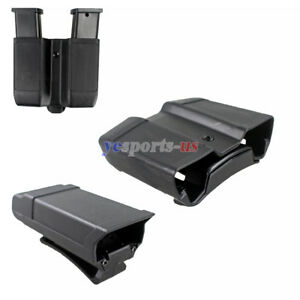 Single Stack Mag Pouch Carrier Single or Dual Magazine Holster for .45 ACP 1911