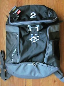 Under Armour Storm Striker Backpack Soccer GraySilver w Embroidered #2