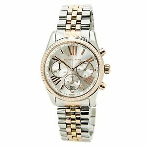 Michael Kors MK5735 Women's Chrono Silver Dial Quartz Bracelet Watch