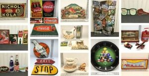Online Bidding Catalog - 250+ Collectible Signs
