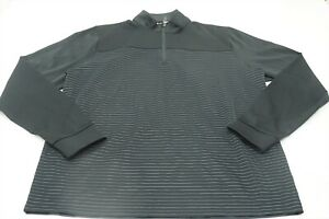 New  Cutter & Buck Golf  Pullover Mens Size Large  Black  217H