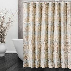 A72 Opacity Waterproof Mould Proof Bathroom Partition Shower Curtain 200X200CM Z