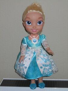 Elsa Frozen Snow Glow_Disney_EnglishSpanish Singing Princess 13