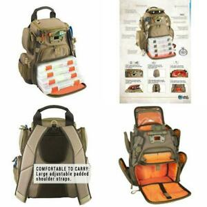 Fishing Tackle Backpack Bag Box Wild River Recon Compact Lighted Storage Outdoor