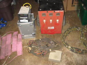HTI POST WELD HEAT TREAT UNIT WITH CABLES CERAMIC PADS AND DATA COLLECTOR