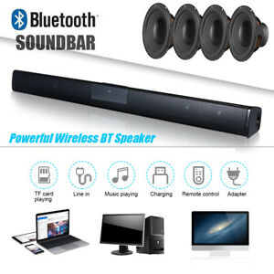TV Home Theater Soundbar BT Stereo Speaker Subwoofer With Remote Control
