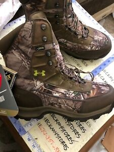 New Mens Under Armour Browtine Camoflauge 800g Hunting Boots 1240080-946 Sz 13US