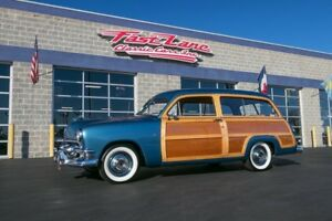 1951 Ford Country Squire Ask About Free Shipping! 1951 Ford Country Squire Woody Wagon Flat Head V8