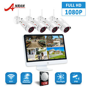 ANRAN 1080p 8CH NVR Security Camera System Wireless 15