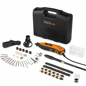 Rotary Tool Kit Variable Speed with Flex shaft 80 Accessories 3 Attachments an