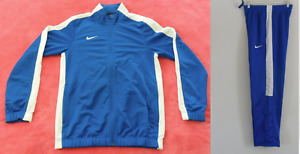 New~Nike DRI-FIT TRICOT BOLD STRIPE TRACK SUIT sweat shirt Jacket-Pant~Men sz2XL