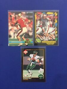 Browning Nagle Lot 3 Cards incl. 2 RCs New York Jets $0.99