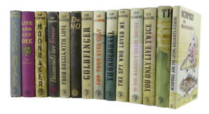 Ian Fleming – Complete Set Of First Edition James Bond Books - 1st - Very Rare
