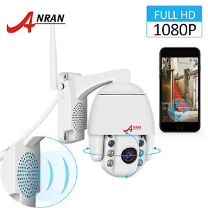 1080P Security Camera System Onivf PTZ Wireless CCTV Outdoor Two-way Audio Zoom