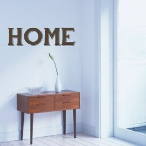 Home Wall Decal 36-inch wide x 10-inch tall