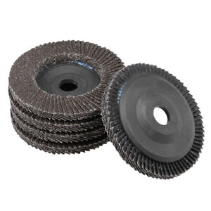 4 Inch Flap Discs 72 Page Grinding Wheels for Angle  Grinders 60 Grits 5 Pcs