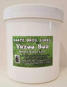 Yazoo Bob Bobcat Lure Kaatz Bros Lures Bobcats Gland Cat Cats Trap Trapper 16oz