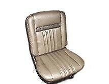 Cougar Standard Decore Blue Seat Upholstery 1967 for Front Buckets and Rear